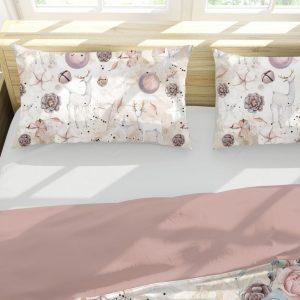 Vianocne postelne obliecky vyrobene zo 100% bavlny s jedinecnym vianocnym dizajnom